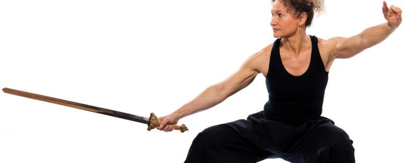 tai chi chuan forrma 54- ruchowa miecz styl Yang